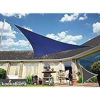 Toldo Vela Kookaburra Azul Triangular 3.0m (Resistente al Agua)