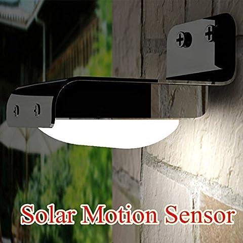 E-3LUE ® Solar Bewegungsmelder Infrarot LED-Licht Outdoor Yard Garden Path Lampe