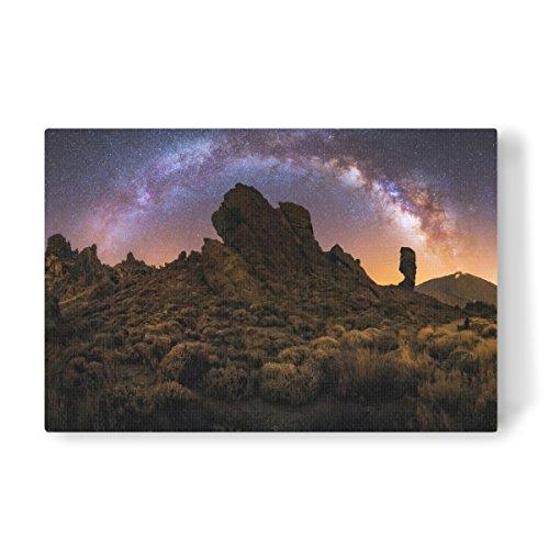 artboxONE Leinwand 90x60 cm Galaxy