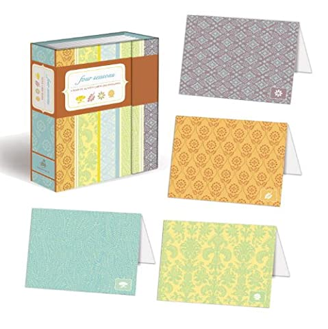 Four Seasons Note Card Book