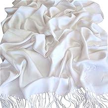 Scialle, pashmina, sciarpa avvolgente, scialle pashmina, robusto, colorato, (più di 60 colori), nuovo