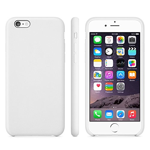 Phone case & Hülle Für iPhone 6 / 6S, Anti-Rutsch mattiert TPU Fall ( Color : Green ) White