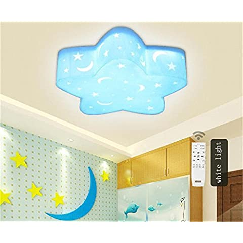 cartone animato LED bambini creativi camera pennello soffitto luci camera