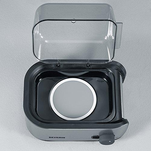 51fkkM geqL. SS500  - Severin Automatic Egg Boiler EK 3134 / brushed stainless-steel, black for up to 6 eggs