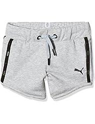 Puma Sport Style Sweat tr g Pantalones Cortos, infantil, SPORTSTYLE Sweat Short TR G, gris, 12 años (152 cm)