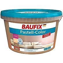 Baufix Farbe Braun Truffel Matt Innenfarbe Wand Wandfarbe Dispersions 5 Liter