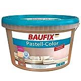 Baufix Pastell Color Farbe Wandfarbe 5 L braun