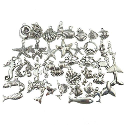 Y Basteln Charms Anhänger für Halskette Armband Marinetier ()