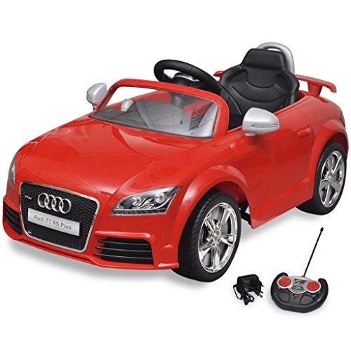Retrome Voiture électrique Enfants Voiture de Sport avec Batterie 12 Volts pour Enfant Au-di TT RS...