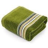 asibg Home Die Servietten de Bain de Baumwolle saugfähig Dick mehr von Handtüchern, und der Umweltschutz grün