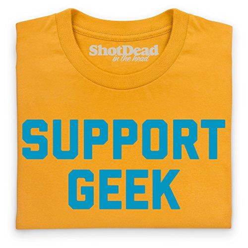 Support Geek T-Shirt, Damen Gelb ...