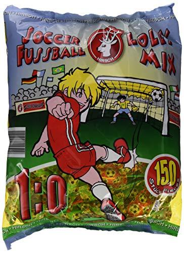 Hirsch Football Lolly  Beutel, 1er Pack (1 x 1.5 kg)