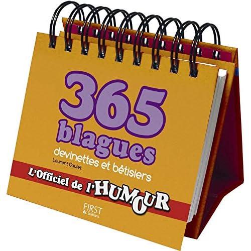 365 blagues, devinettes et autres bêtisiers