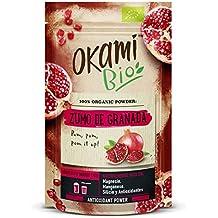 Zumo de granada en polvo 100% orgánica 150gr | 100% orgánico, vegano y