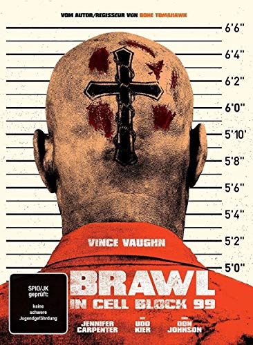 Brawl in Cell Block 99 (Uncut) - 2-Disc Limited Collector's Mediabook  (+ DVD) [Blu-ray] -