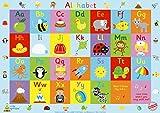 "Little Wigwam Alphabet ""No Tear Guarantee"" Educational Poster (60 x 42cm)"
