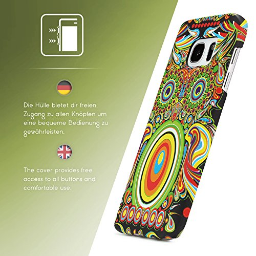 Urcover® Apple iPhone 7 / 8 Forest King Schutz-hülle | Design Wolf Muster | Polycarbonat Back-case | Cover Smartphone Zubehör Tasche Handy-hülle Variante 6