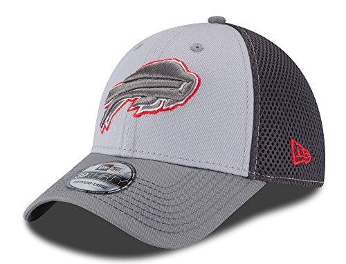 Buffalo Bills New Era 39THIRTY Grayed Out Neo Flex Fit Hat