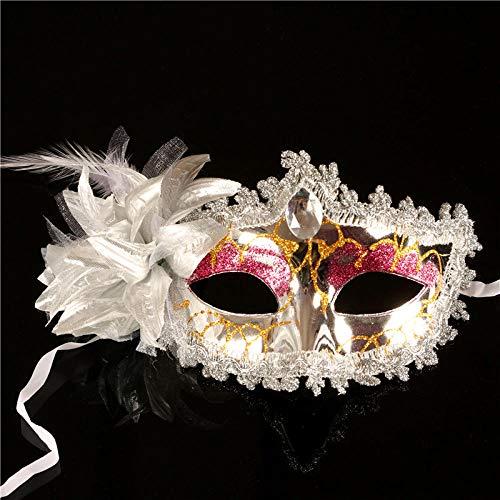 Black Beauty Feder Maske - ZHOUHAOJIE Ball Maske - Halloween Maske