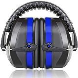 Fnova 34dB Highest NRR Safety Ear Muffs - Ear Defenders for Shooting, Adjustable