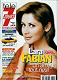 Télé 7 jours - n°1986 - 20/06/1998 - Lara Fabian / interview et photos à New-York