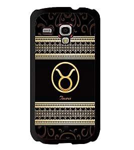Fuson 2D Printed Sunsign Taurus Designer back case cover for Samsung Galaxy S3 Mini - D4271