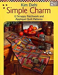 [(Simple Charm : 12 Scrappy Patchwork and Applique Quilt Patterns)] [By (author) Kim Diehl] published on (October, 2012)