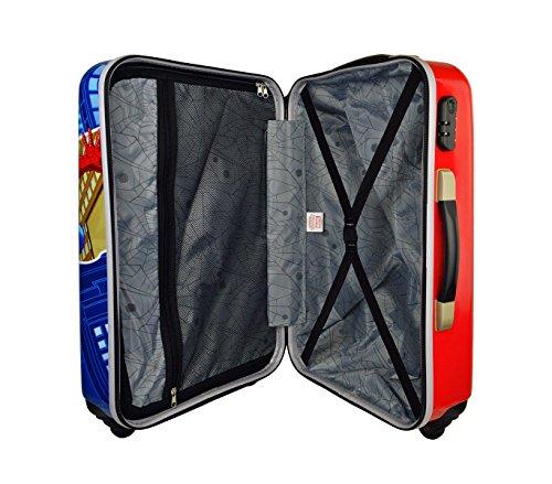 51fksWbyrDL - 2451451 Maleta trolley rigida en ABS equipaje de mano SPIDERMAN 34 x 55 x 20 cm