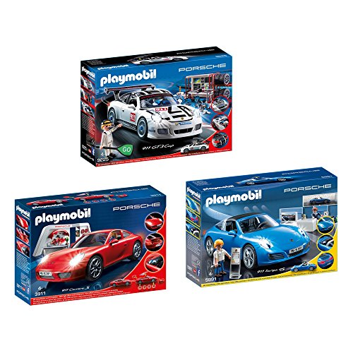 playmobil porsche 911 gt3 cup porsche 911 carrera s. Black Bedroom Furniture Sets. Home Design Ideas