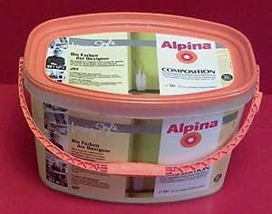 Alpina wandfarbe composition joy matt elfenbein 10 l - Wandfarbe elfenbein ...