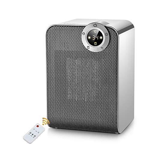 Calentador de 1800W de Ahorro de energía a Prueba de Agua Calentador eléctrico 8H Temporizador Funcionamiento...