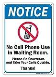 Metall Türschild Kein Handy Verwendung in Wartezimmer Schild Aluminium Wand Poster Yard Zaun Decor Schild Geschenk