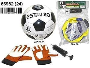 Rama Set Balon Futbol con Accesorios 66982