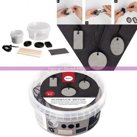 kit-pour-debutants-de-realisation-de-bijoux-en-beton-creatif-inclus-150g-de-beton-3-moules-et-lanier