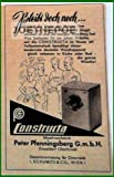 50er Jahre - Inserat / Anzeige: CONSTRUCTA WASCHMASCHINE / BLEIBT DOCH NOCH - Grösse : ca. 70 x 110 Millimeter - alte Werbung / Originalwerbung/ Printwerbung / Anzeigenwerbung / Advertisement
