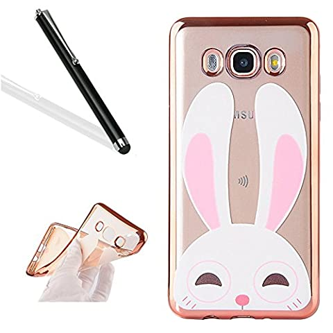 Galaxy J5 2016 Case Cover with Free Black Stylus Pen,Leeook