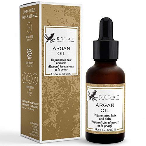 100% kaltgepresstes Bio Arganöl aus marokkanischen Arganbäumen - Natürliches Arganöl für maximale Reinheit - 100% schnell einziehendes,...
