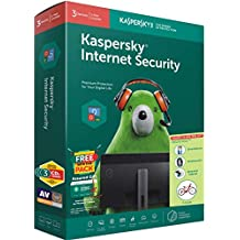 Kasper Internet Security 3 cd 3 key version 18,windows 10/8.1/8 Mac desktop, Laptop & Tablet Smart Phone andriod