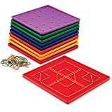 Learning Resources Geoboards - Tableros para aprender geometría (10 unidades)