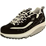 Skechers Womens Strength Leather Shape Ups Toning Trainers
