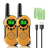 Walkie Talkie Kids, 8Km Long Distance Walkie Talkies Rechargeable,PMR 446 with 312 group