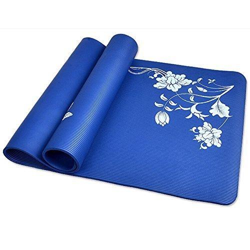 pellor-80cm-molto-comode-ad-alta-densit-antiscivolo-tappetino-yoga-pilates-eserzio-pad-blu-185801cm