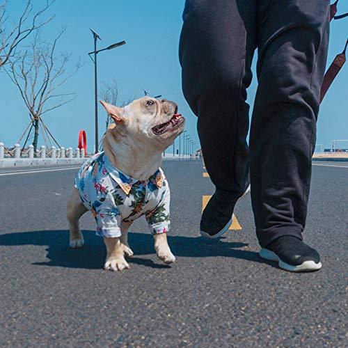 Puppy Spring Dog Kleidung French Bulldog Shirt Jackenhemd Haustier Mops Puppy Dog Dog - Mop Dog Kostüm