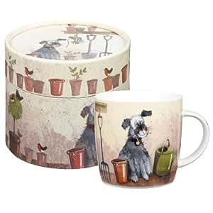 alex clark mug motif abri de jardin dans sa bo te chapeau cuisine maison. Black Bedroom Furniture Sets. Home Design Ideas