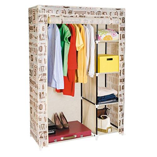 ArtMoon Manitoba Kleiderschrank Garderobenschrank Faltschrank 105X45X160 cm