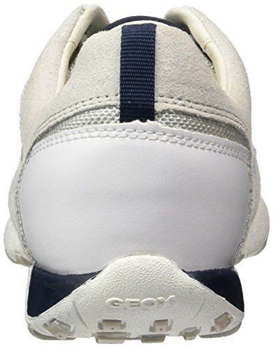 Geox Damen D Freccia A Sneaker Weiß (bianco Sporco / Bianco1209)