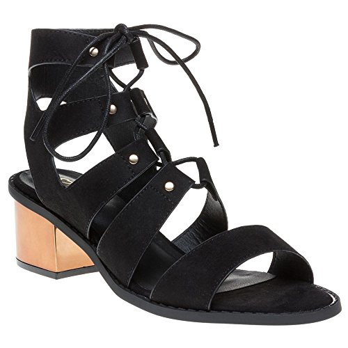Sole Roxie Damen Sandalen Schwarz Black
