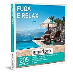 Idea Regalo - SMARTBOX - Cofanetto regalo coppia- idee regalo originale - 2 giorni di relax con fascino rustico