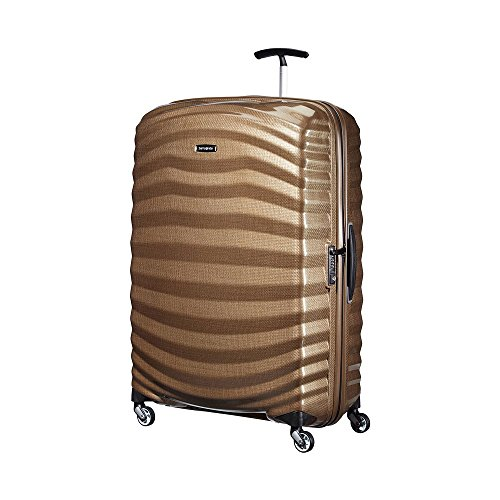 Samsonite Lite-Shock Suitcase 4 Wheel Spinner 81cm (Copper Gold)