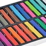 Tizas de colores MAon, para teñir el cabello, tinte temporal, hazlo tú mismo (24colores)